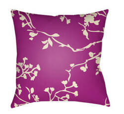 Surya Chinoiserie Floral Pillow Cf-002