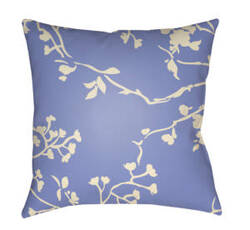 Surya Chinoiserie Floral Pillow Cf-003