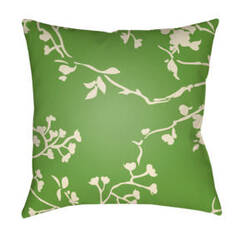 Surya Chinoiserie Floral Pillow Cf-005