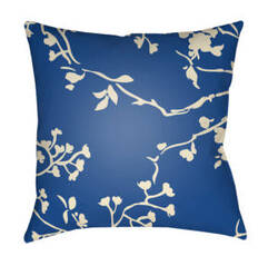 Surya Chinoiserie Floral Pillow Cf-007