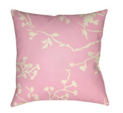 Surya Chinoiserie Floral Pillow Cf-009