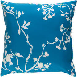 Surya Chinoiserie Floral Pillow Cf-010