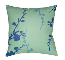 Surya Chinoiserie Floral Pillow Cf-015