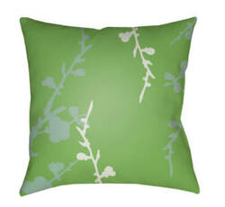 Surya Chinoiserie Floral Pillow Cf-019