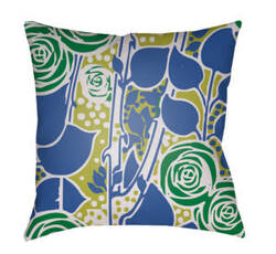 Surya Chinoiserie Floral Pillow Cf-026
