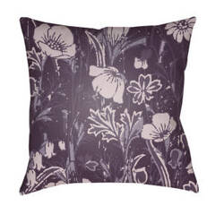 Surya Chinoiserie Floral Pillow Cf-032