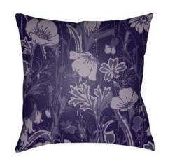 Surya Chinoiserie Floral Pillow Cf-034