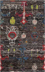 Surya Chocho Cho-9000 Black Area Rug