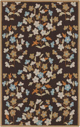 Surya Cannes CNS-5406 Dark Brown Area Rug