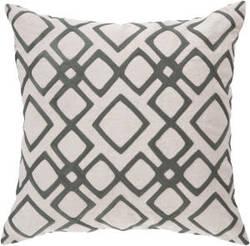 Surya Geo Diamond Pillow Com-017