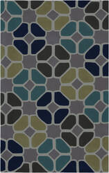 Surya Cosmopolitan COS-9193 Dark Lavender Gray Area Rug