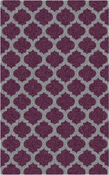 Surya Cosmopolitan COS-9228 Gray / Violet (purple) Area Rug