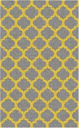 Surya Cosmopolitan COS-9229 Gray / Yellow Area Rug
