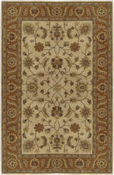 Custom Surya Crowne CRN-6004 Golden Beige Area Rug