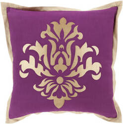 Surya Cosette Pillow Ct-004 Purple