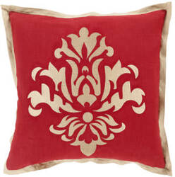 Surya Cosette Pillow Ct-005 Red