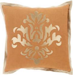 Surya Cosette Pillow Ct-006 Orange
