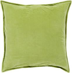 Surya Cotton Velvet Pillow Cv-001 Olive
