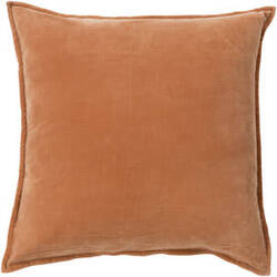 Surya Cotton Velvet Pillow Cv-002 Orange