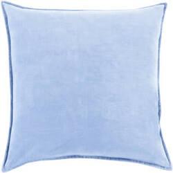 Surya Cotton Velvet Pillow Cv-015 Blue