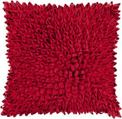 Surya Dahlia Pillow Da-006 Red