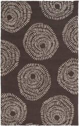 Surya Decorativa Dcr-4012 Black Area Rug