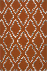 Surya Fallon FAL-1098 Burnt Orange Area Rug