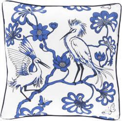 Surya Egrets Pillow Fbe-002
