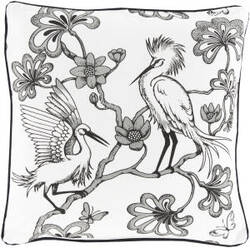 Surya Egrets Pillow Fbe-003