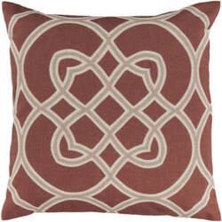 Surya Pillows FF-021 Rust/Beige