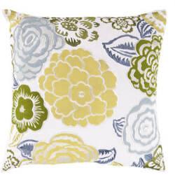 Surya Pillows FF-027 Lime/Multi