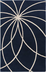 Custom Surya Forum Fm-7186 Dark Blue Area Rug