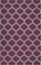 Rugstudio Sample Sale 61468R Raspberry Wine Area Rug