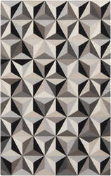 Surya Frontier FT-548 Black / Light Gray Area Rug