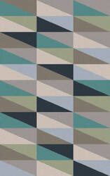 Surya Frontier FT-556 Teal / Gray Area Rug