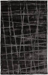 Surya Graph GRP-2001 Charcoal Gray Area Rug