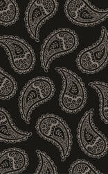 Surya Henna HEN-1013 Black / Gray Area Rug