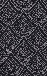 Surya Henna HEN-1017 Black Area Rug