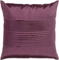 Surya Solid Pleated Pillow Hh-016