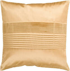 Surya Solid Pleated Pillow Hh-022