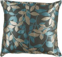 Surya Pillows HH-059 Charcoal/Teal