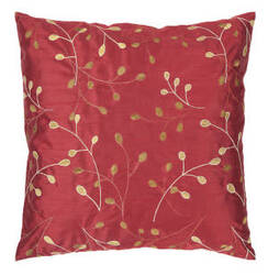 Surya Blossom Pillow Hh-093 Red