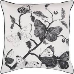 Surya Pillows HH-122 Black/Ivory
