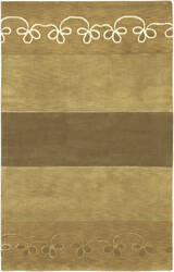 Surya Mugal IN-8051 Beige Tan Olive Area Rug