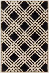Surya Intermezzo Ine-1002 Black Area Rug