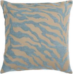 Surya Velvet Zebra Pillow Js-030