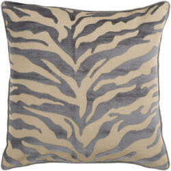 Surya Velvet Zebra Pillow Js-032