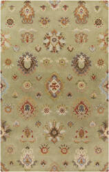 Surya Langley LAG-1020 Moss / Orange / Blue / Green Area Rug