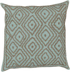Surya Atlas Pillow Ld-027 Aqua/Camel