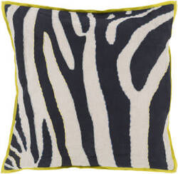 Surya Zebra Pillow Ld-042